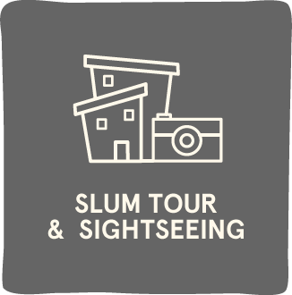 Slum and Sightseeing Tour.