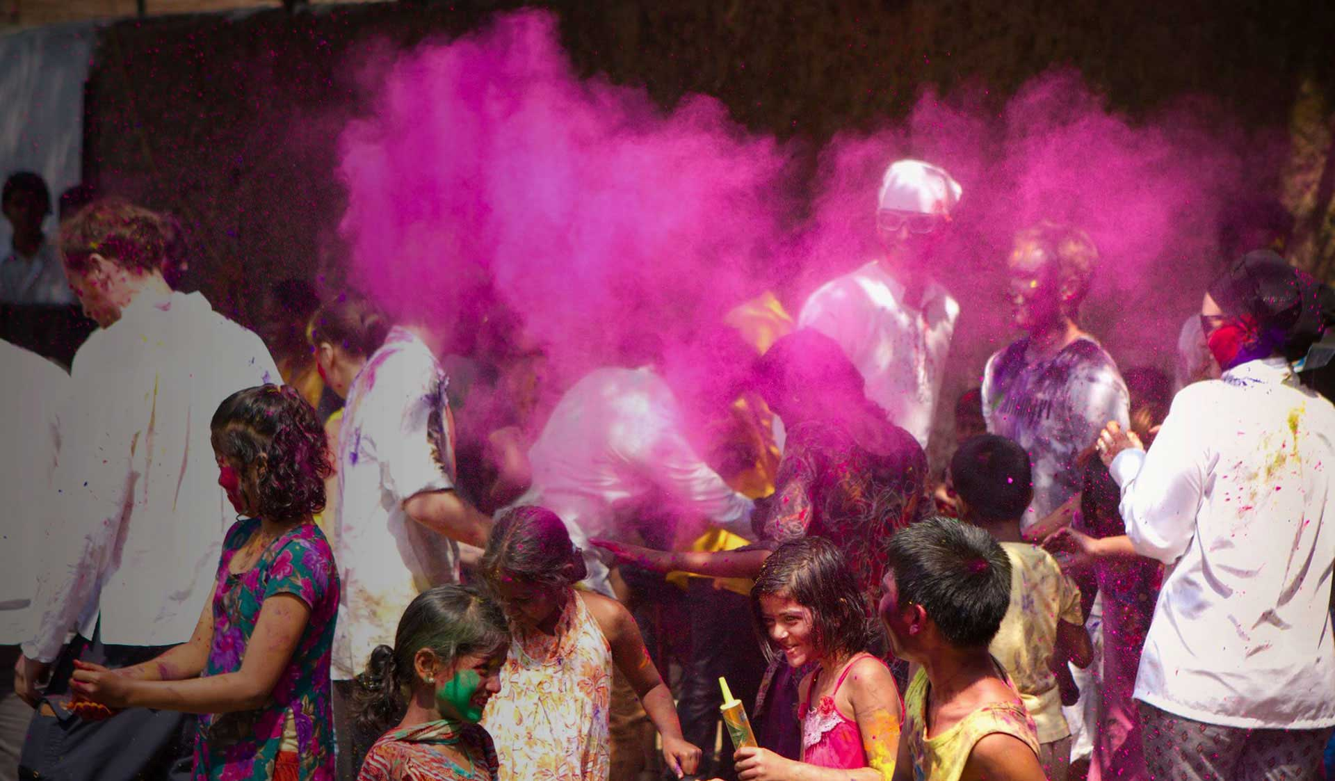 Holi Party & Sanyaj Tour